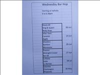 thumbnail of Wednesday Bar Hop